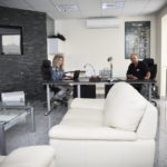 Krematórium Nové Zámky kancelária