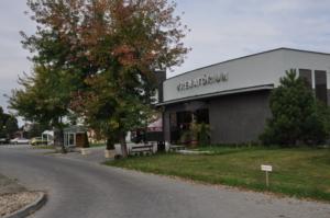 Krematórium Nové Zámky budova